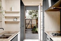 kitchens / Food preparation spaces