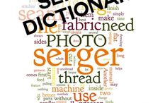 S is for Serger / Serger tips, tricks and tutorials.