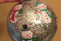 Homemade Christmas Ornaments / Holiday ornaments and DIY projects we've tried from Pinterest ideas.