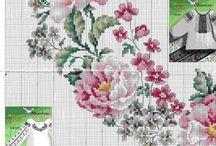 Cross stitch - floral 2