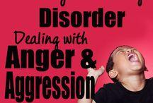 Sensory processing -  anger and aggression
