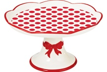 cake stand, trays and et cetera / In general lovely kitchen things. Because I'm obsessed with these too.
