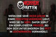 Creepy/Horror Fakten