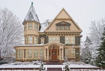 victorian, craftsman, cottage... home / by Nancy Spencer