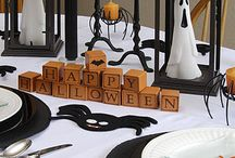 Стол (halloweeen table decor)