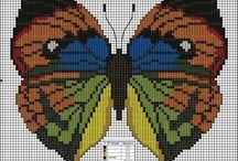 Бабочки (вышивка)
