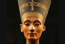QUEEN NEFERTITI / An Egyptian queen renowned for her beauty, and the Great Royal Wife of Akhenaten, an Egyptian. in the Western imagination. Nefertiti was perhaps one of the most powerful women ever to have ruled.