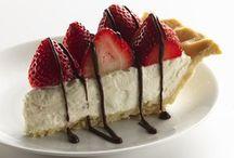"Sweets :-D / ""Life is uncertain.  Eat dessert first.""  ~Ernestine Ulmer   / by Gwen Mirman"