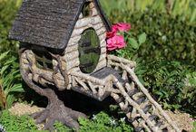 Mini domčeky a záhradky