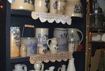 antique  pottery