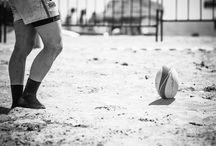 Rugby / Campeonato de rugby en la playa de Vera