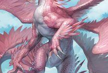 Dragon's / criaturas místicas