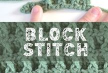 block stich