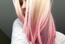 Fargerikt hår
