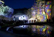 Feszt!Eger / Feszt Eger Night Projection fényfestés  #feszteger #egerfeszt #bolyki #nightprojection #fenyfestes #raypainting