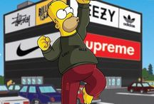 hypebeast simpsons