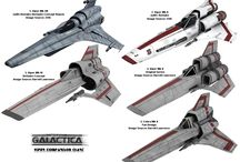 Battlestar Galactica / by Marcus McElhaney
