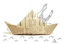 Papieren bootjes en nog meer inspiratie