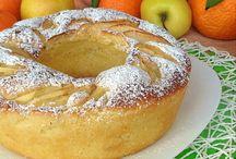 Torta media arancia