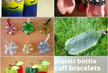 Recycled Bottles Crafts