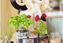 ✷ Wedding Centerpieces / Lots of inspirations to choose a perfect centrepiece for your wedding. Some of them even are DIY projects!