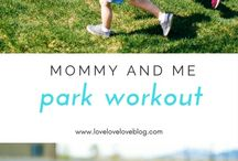 Mommy and Me workouts / Fitness | Motherhood | Mommy and Me | Healthy living | Health