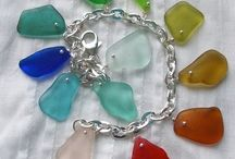 Sea Glass Stuff I Like / sea glass jewelry, decor, etc.