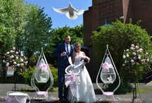 Wedding Doves - Cages / We have the largest selection of cages and baskets in the North East. See our range, visit our web site. N.B. ALL PICTURES ON THIS BOARD ARE COPYRIGHT OF WHITE HEART DOVES