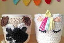 cubierta tazón crochet