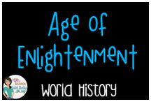 World History:  Age of Enlightenment / Teaching resources about the Age of Enlightenment