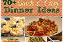 70-Quick & Easy Dinner meals