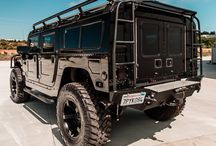 Humvee / Paint: Taupe Green (hazel), Gray (chelsea), or Light Blue (liquid blue). Off White Rims & Interior.  Mirrors -Drivers side red, passenger side green.