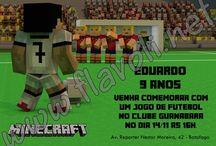 Festa Minecraft / :: flavoli.net - Papelaria Personalizada :: Contato: (21) 98-836-0113 vendas@flavoli.net
