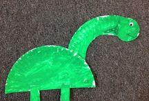 Dinosaur Crafts / by Amy H