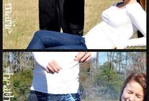 Maternity - gender reveal/pregnancy announcement