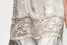Ткань + вязание крючком