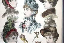 HISTORICAL LADIES HEADWEAR