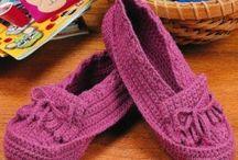 Crochet Shoes (Women)