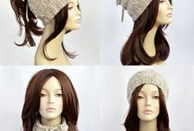 ponytail hat and hat