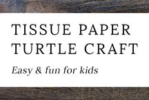 Turtle crafts