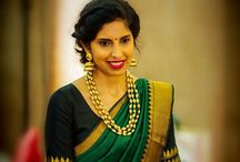 Saree and blouses...