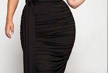 Vestidos para gorditas / Vestidos de Fiesta,, casuales, elegantes, Vestidos cortos, Vestidos largos, Modelos ideales para mujeres Gorditas