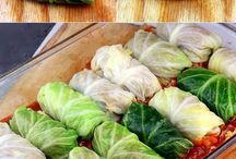 stuffed cabbage rolls & Meals