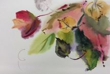 Watercolours by Tania Margolin / I pin here my #watercolour #paintings