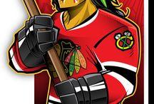 Хоккей в лицах