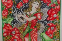 Annie Stegg Gerard Art and Coloring Pages - Moonlit Vale