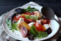 Salades, frites, sides...