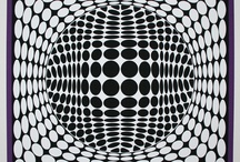 Art: OpArt / optical illusions and other op art lesson plans and project ideas that are perfect for the visual art classroom. Elementary, middle school and high school.