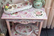 Мозаичные столы
