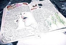 journal + sketchbook